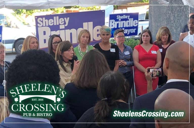 Democratic fundraiser at Sheelen's Crossing in Fanwood